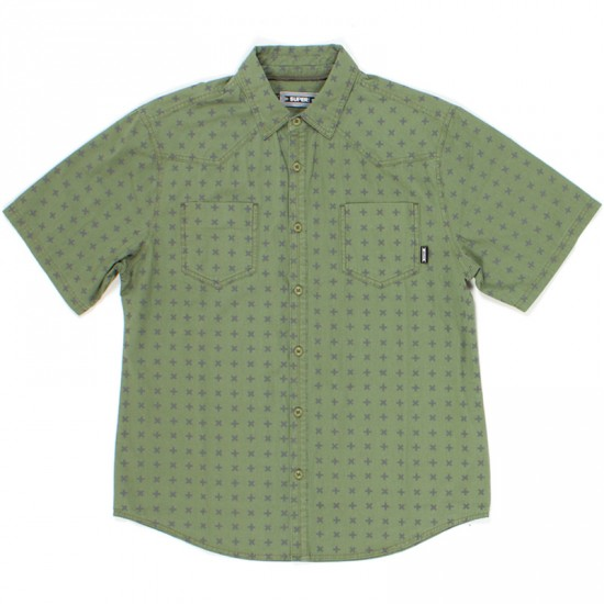 SUPERbrand Lanai Short Sleeve Shirt - Moss