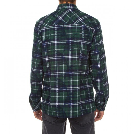 SUPERbrand Stormy Flannel Shirt - Pine