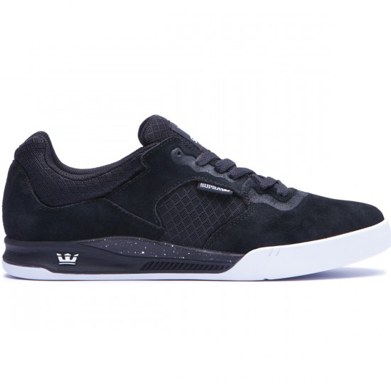 Supra Avex Shoes - Black/White - 10.0