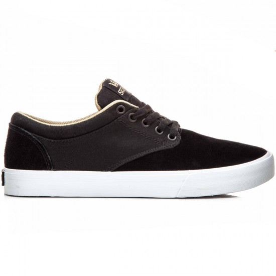 Supra Chino Shoes - Black/Khaki/White - 10.0
