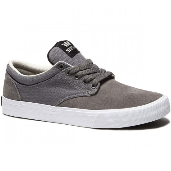 Supra Chino Shoes - Magnet White - 8.0