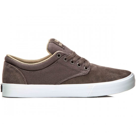 Supra Chino Shoes - Morel/Khaki/White - 10.0