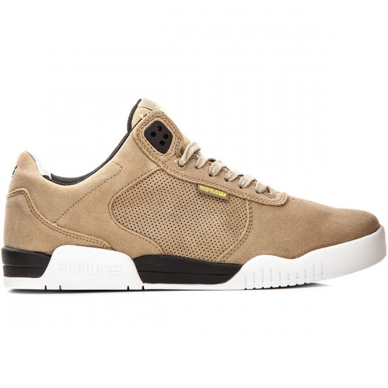 Supra Ellington Shoes - Khaki/Black/White - 10.0