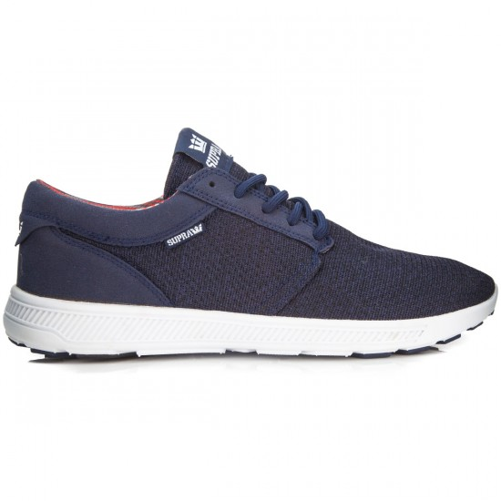 Supra Hammer Run Shoes - Blue Nights/Heather/White - 6.0