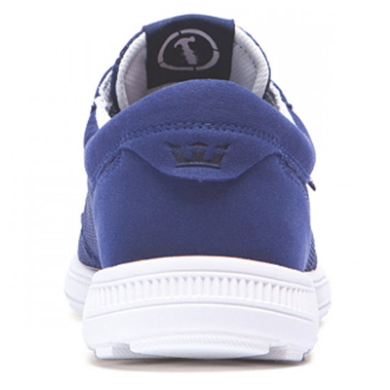 Supra Hammer Run Shoes - Navy/Bone - 6.5
