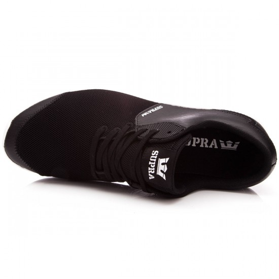 Supra Noiz Shoes - Black/White - 10.0
