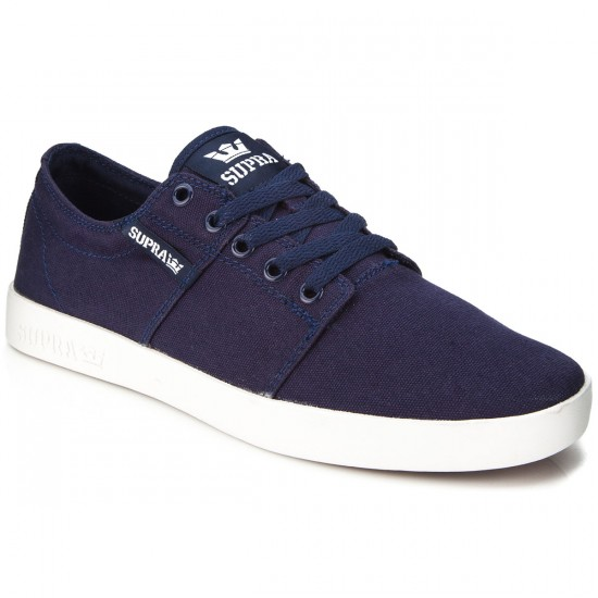 Supra Stacks II D Shoes - Navy/White - 7.5