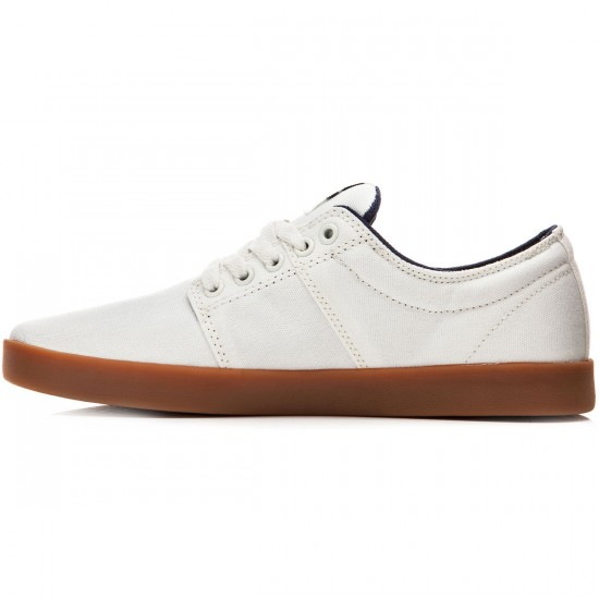 Supra Stacks II Shoes - Off White/Gum - 10.0