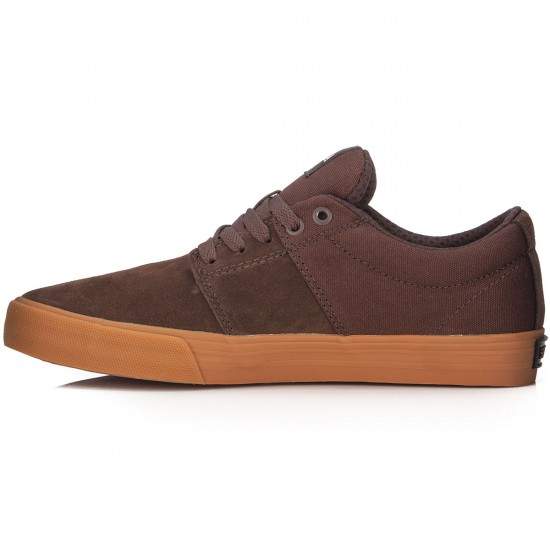 Supra Stacks Vulc II Shoes - Coffee Gum - 7.5