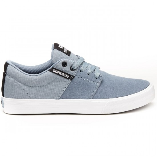 Supra Stacks Vulc II Shoes - Slate/White - 8.0