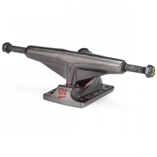 Tensor Alum Reg Skateboard Trucks - Clear/Black