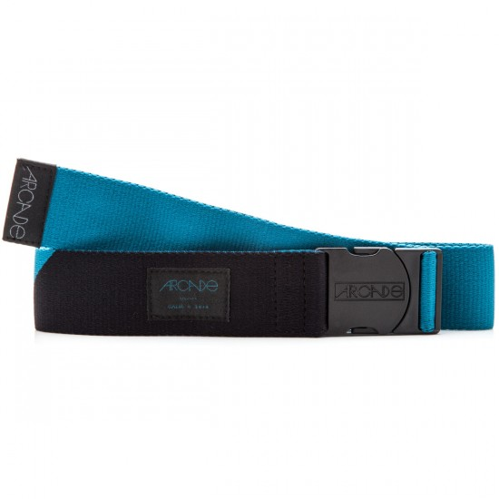 The Cornerstone Belt - Teal/Black