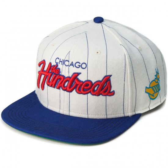 The Hundreds 2015 World Series Team Snapback Hat - White