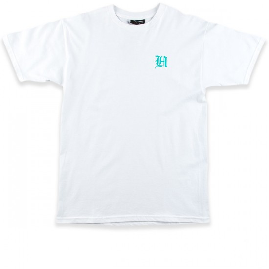 The Hundreds Attacked T-Shirt - White
