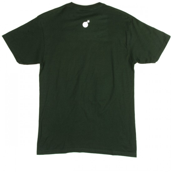 The Hundreds Cam Slant T-Shirt - Forest Green
