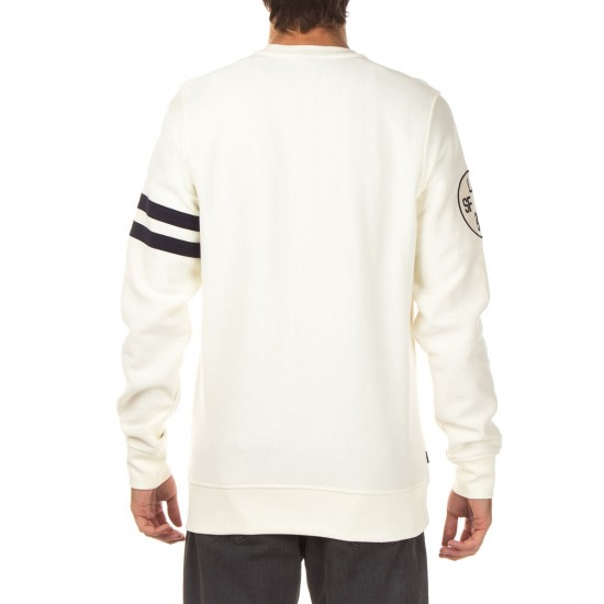 The Hundreds Casewell Crewneck Sweatshirt - Off White