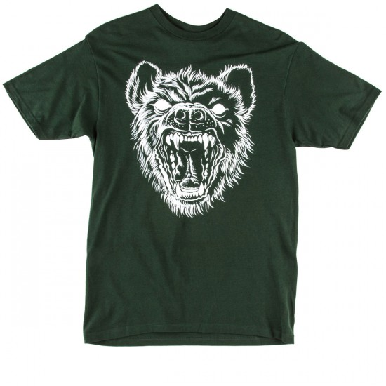 The Hundreds Darkness T-Shirt - Forest Green