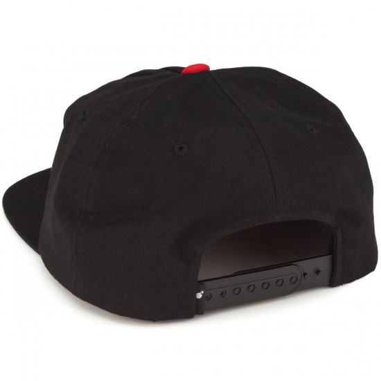 The Hundreds Dime Snapback Hat - Black