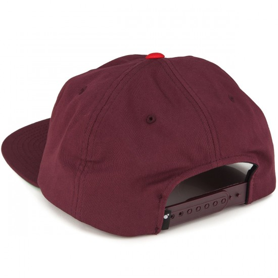 The Hundreds Dime Snapback Hat - Burgundy