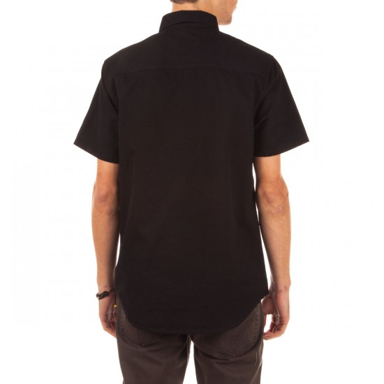 The Hundreds Filter Short Sleeve Woven Shirt - Black