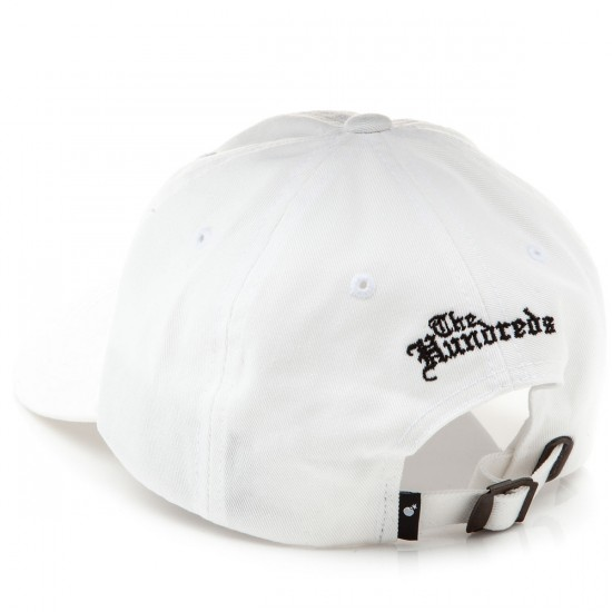 The Hundreds Fist Strapback Hat - White