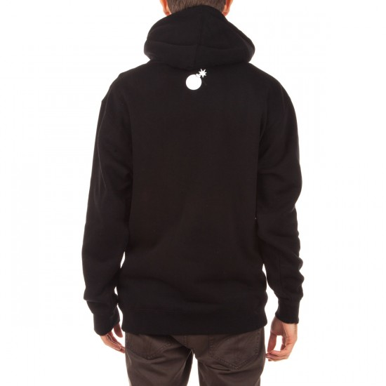 The Hundreds Flat Spot Pullover Hoodie - Black
