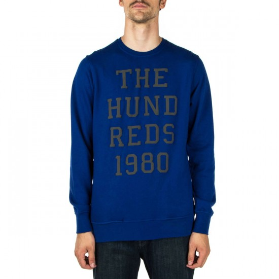 The Hundreds Folsom Crewneck Sweatshirt - Royal Blue