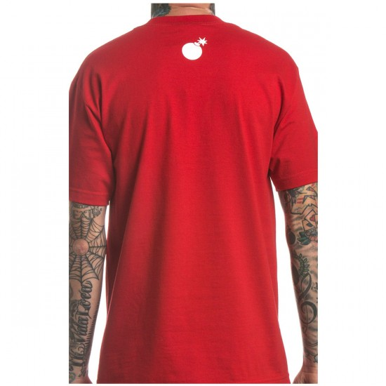 The Hundreds Forever Bar Logo T-Shirt - Red