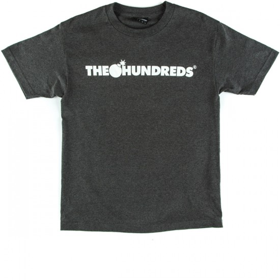 The Hundreds Forever Bar T-Shirt - Charcoal Heather