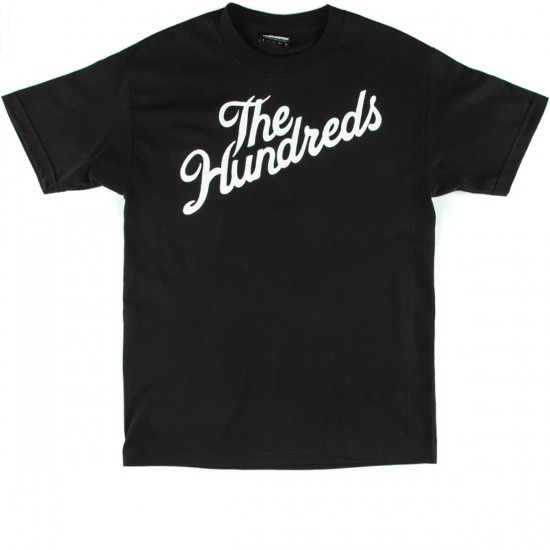 The Hundreds Forever Slant T-Shirt - Black