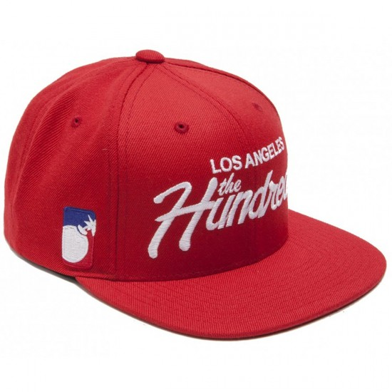 The Hundreds Forever Team Snap Hat - Red