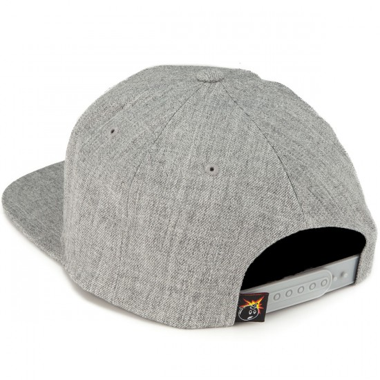 The Hundreds Forever Team Snapback Hat - Athletic Heather