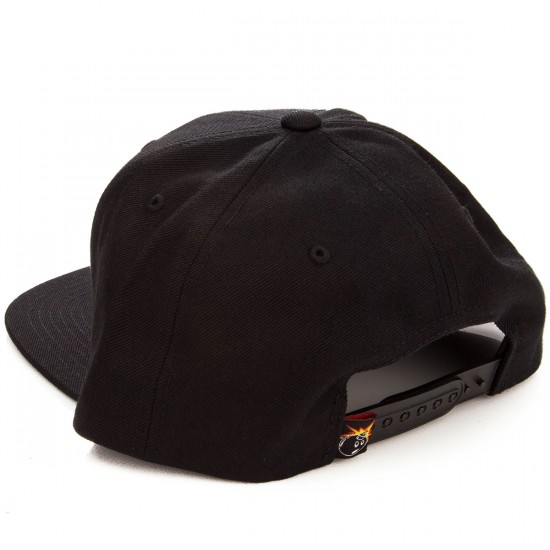 The Hundreds Forever Team Snapback Hat - Black