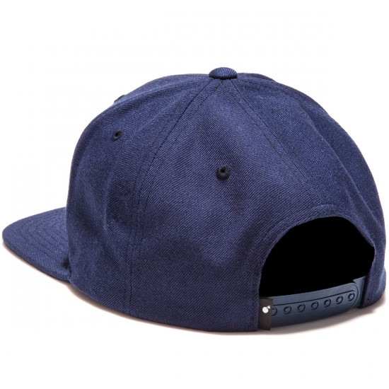 The Hundreds Forever Team Snapback Hat - Navy