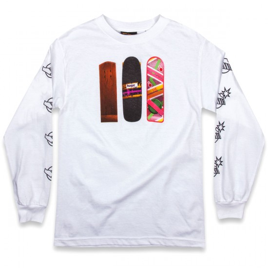 The Hundreds Generations Long Sleeve T-Shirt - White