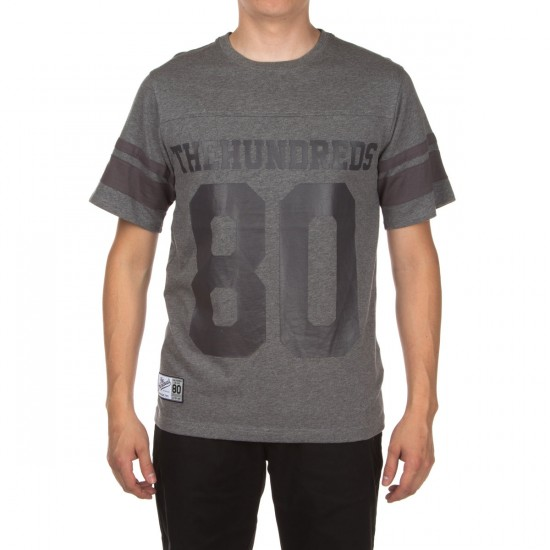 The Hundreds Leaders Short Sleeve Jersey Shirt - Athletic Heather