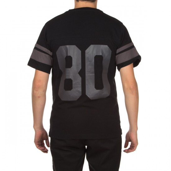 The Hundreds Leaders Short Sleeve Jersey Shirt - Black