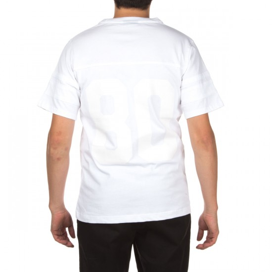 The Hundreds Leaders Short Sleeve Jersey Shirt - White