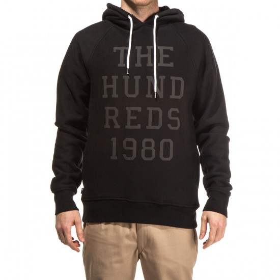 The Hundreds Levy Pullover Hoodie - Black