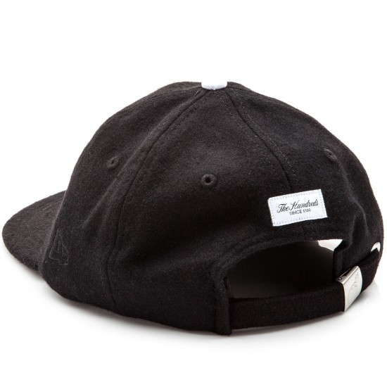 The Hundreds Meaning New Era Strapback Hat - Black
