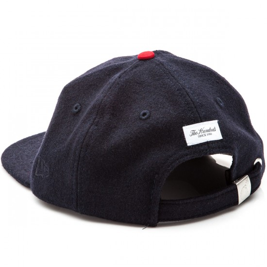 The Hundreds Meaning New Era Strapback Hat - Navy