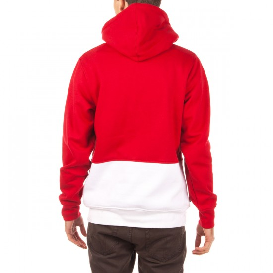 The Hundreds Miles Pullover Hoodie - Red