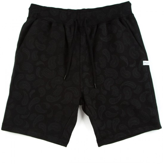 The Hundreds Mitch Sweat Shorts - Black