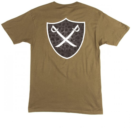 The Hundreds Mixed Shield T-Shirt - Military Green