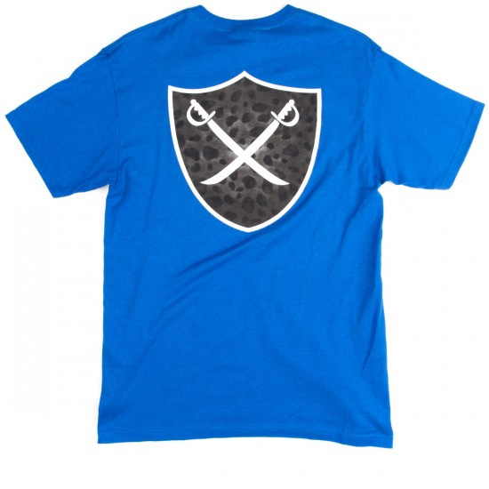 The Hundreds Mixed Shield T-Shirt - Royal Blue