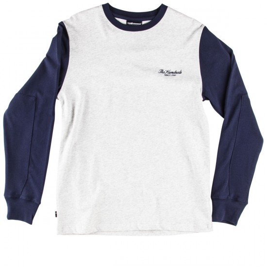 The Hundreds Monty Long Sleeve T-Shirt - Ash Heather