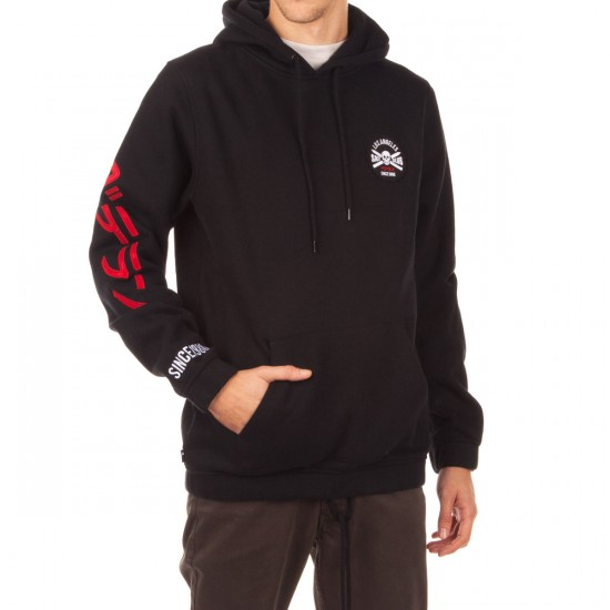 The Hundreds Pass Pullover Hoodie - Black