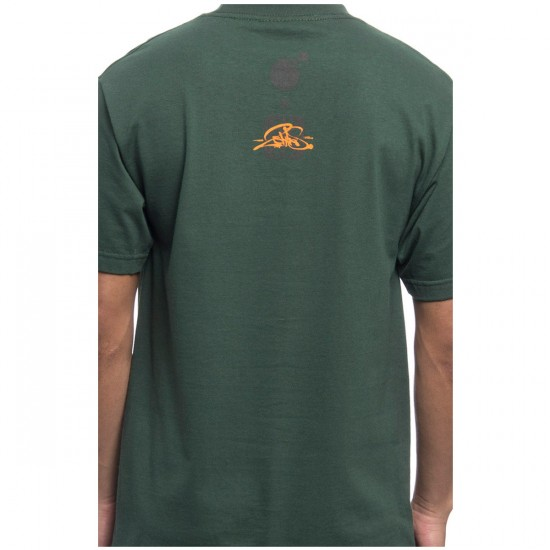The Hundreds Rat Race by 2Shae T-Shirt - Forest Green