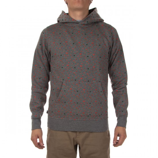 The Hundreds Round Pullover Hoodie - Athletic Heather