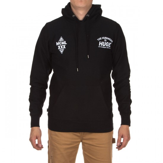 The Hundreds Sage Pullover Hoodie - Black